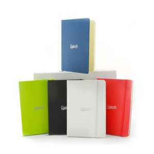 coloris carnet soft touch personnalisé welcome pack classic
