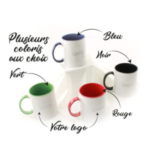 mug coloré a personnaliser kit de bienvenue