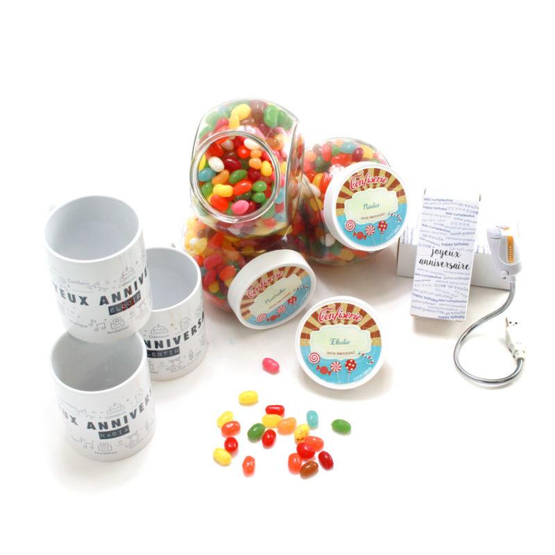 birthday pack anniversaire mug bonbon