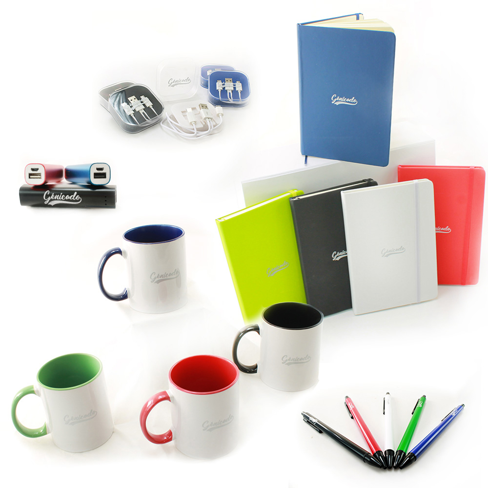 Personnalisation objets marquage sur mesure welcome pack